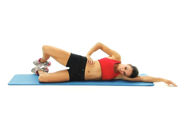 Side Lying clam exercise