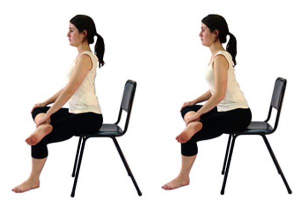 Seated stretch