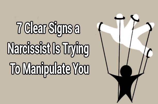 7 Clear Signs a Narcissist Is Trying To Manipulate You - MindWaft